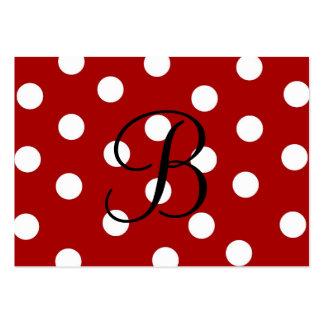 Polka Dot Enclosure Card Business Card Template