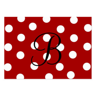 Polka Dot Enclosure Card Pack Of Chubby Business Cards