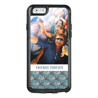 Polka Dot Fish Pattern | Your Photo & Text OtterBox iPhone 6/6s Case