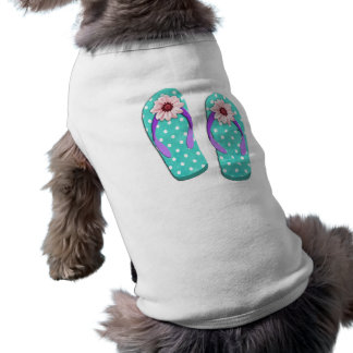 Polka Dot Flip Flops Shirt