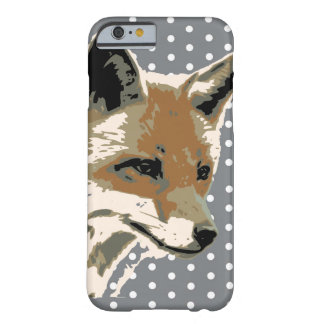Polka Dot Fox Face Iphone6 Case Barely There iPhone 6 Case