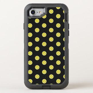 Polka Dot Fresh Lemon OtterBox Defender iPhone 7 Case