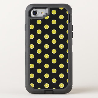 Polka Dot Fresh Lemon OtterBox Defender iPhone 8/7 Case