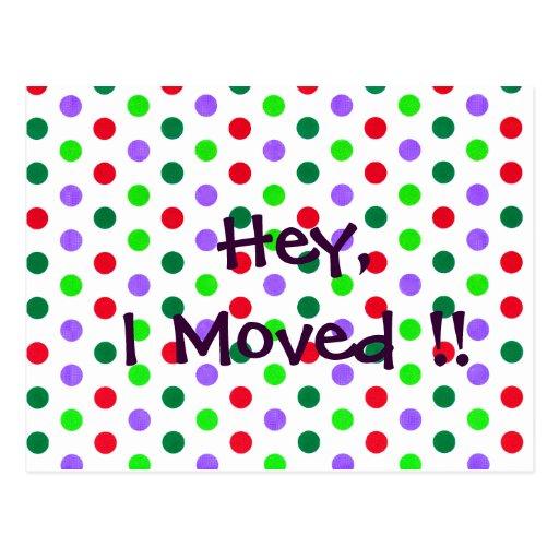 Polka Dot Fun new Home Notifications Post Cards