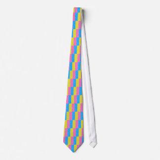 Polka Dot Fun - Pink, Blue & Yellow Tie