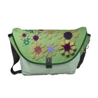 Polka Dot Garden Commuter Bag