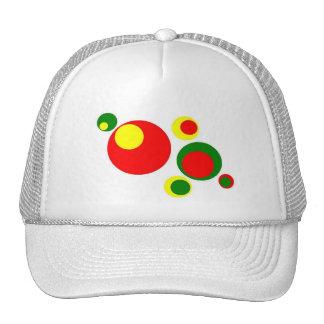polka dot hat