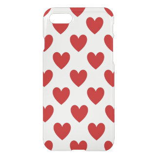 Polka Dot Hearts iPhone 8/7 Case