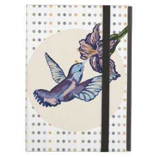 Polka Dot Hummingbird Ipad Air Case