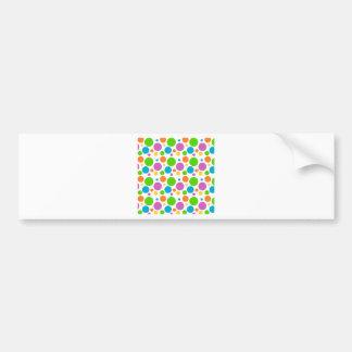 Polka Dot Image Bumper Sticker