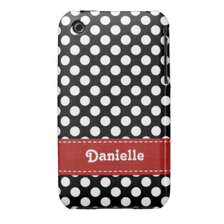 Polka Dot iPhone 3g 3gs Case Mate Cover iPhone 3 Cover