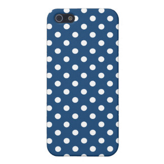 Polka Dot iPhone 5 Case in Monaco Blue