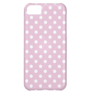 Polka Dot iPhone 5 Case in Sweet Lilac Pink