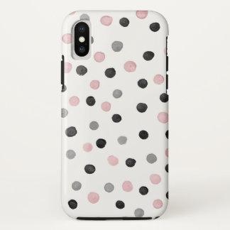 Polka Dot iPhone X Case