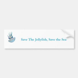 Polka Dot Jelly Fish Bumper Sticker