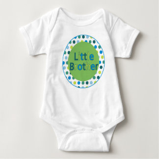 Polka Dot Little Brother Shirt or Bodysuit