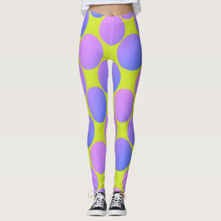 Polka Dot Monster Leggings
