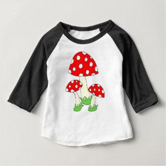 Polka Dot Mushroom Baby T-Shirt