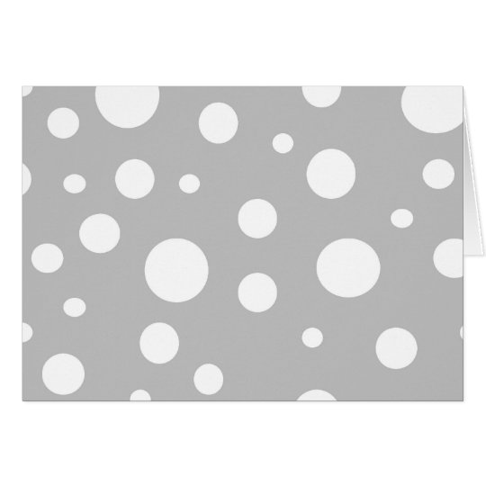 Polka Dot Notecard
