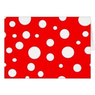 Polka Dot Notecard