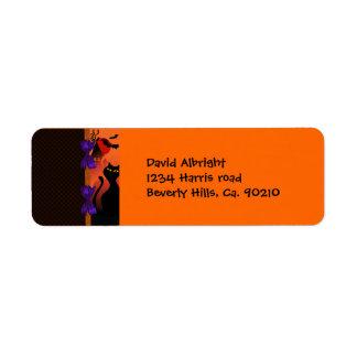 Polka Dot Orange Purple Black Halloween