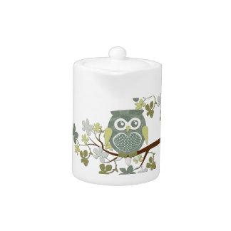 Polka Dot Owl in Tree