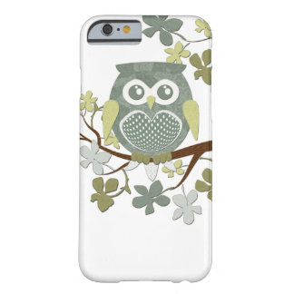 Polka Dot Owl in Tree Case Barely There iPhone 6 Case