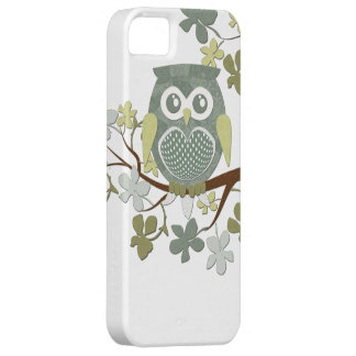 Polka Dot Owl in Tree Case iPhone 5 Covers