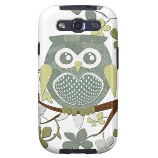 Polka Dot Owl in Tree Samsung Galaxy SIII Covers