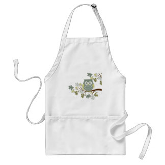 Polka Dot Owl in Tree Standard Apron