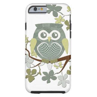Polka Dot Owl in Tree Tough iPhone 6 Case