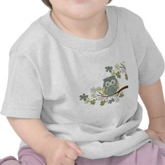 Polka Dot Owl in Tree Shirts