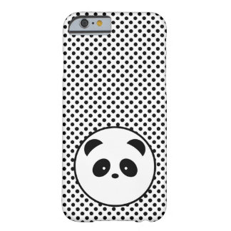 Polka dot panda barely there iPhone 6 case
