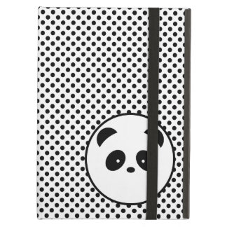Polka dot panda cover for iPad air