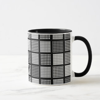Polka Dot Patchwork Pattern Mug
