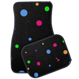 Polka Dot Pattern on Car Mats