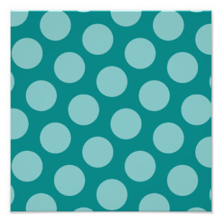 Polka Dot Pattern Photo Enlargement