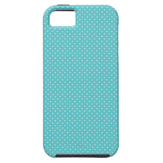 Polka dot pin dots girly chic blue pattern iPhone 5 cases