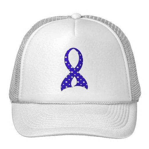 Polka Dot Ribbon ARDS Hats