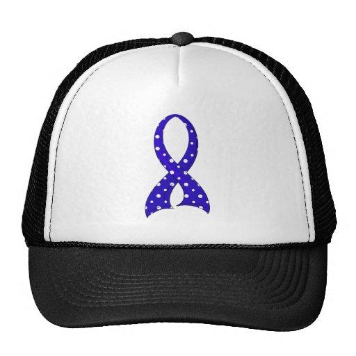 Polka Dot Ribbon ARDS Mesh Hats
