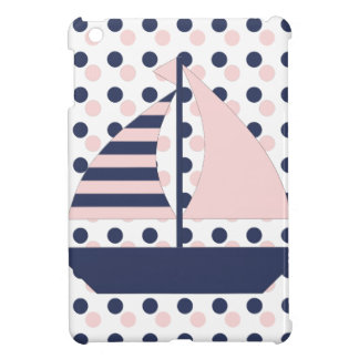 Polka Dot Sail Boat Case For The iPad Mini