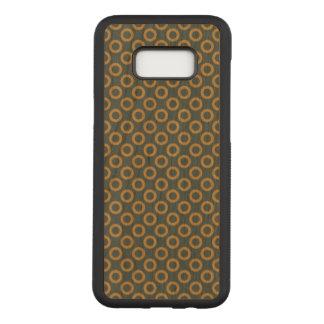 Polka Dot Samsung Galaxy S8+ Slim Cherry Wood Case