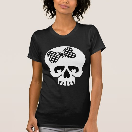 Polka Dot Skulls T-Shirt