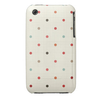polka dot vintage iphone 3 barely there case iPhone 3 cases