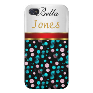 Polka Dots 4 4s  iPhone 4/4S Covers