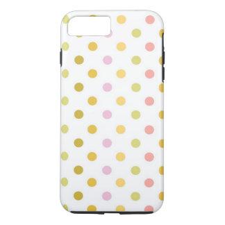 Polka Dots Apple iPhone 7 Plus Tough Phone Case