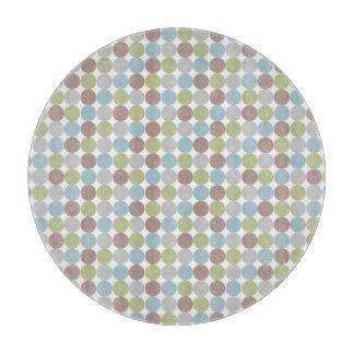 Polka Dots Background Cutting Board