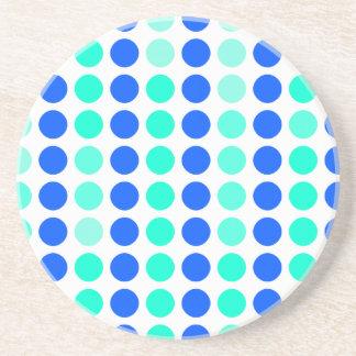 Polka Dots Beverage Coasters