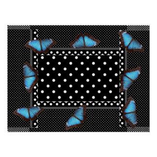 Polka-dots Butterfly Pattern Office Peace Destiny