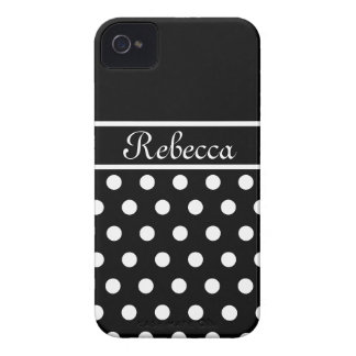 Polka Dots Case-Mate iPhone 4 Cases